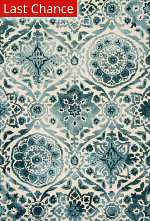 Rugstudio Sample Sale 153827R Indigo Area Rug