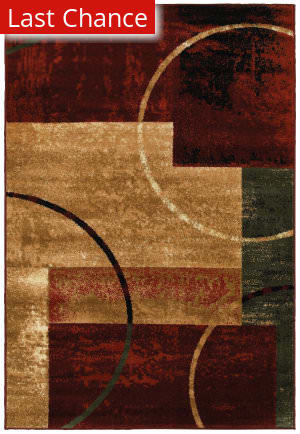 Rugstudio Sample Sale 179374R Red Area Rug
