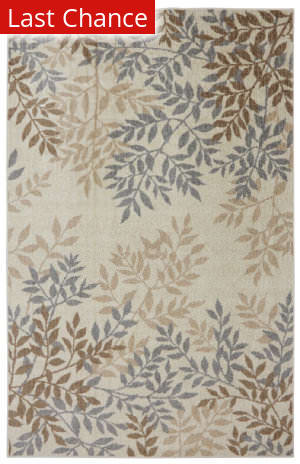 Mohawk Home Botanica Sylvara Neutral Area Rug
