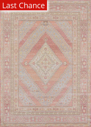 Rugstudio Sample Sale 173965R Pink Area Rug