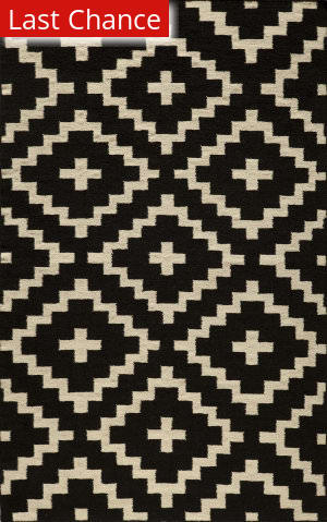 Rugstudio Sample Sale 161325R Black Area Rug