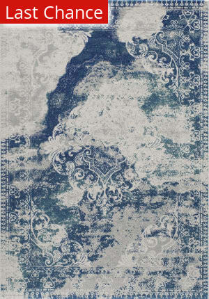 Rugstudio Sample Sale 161397R Blue Area Rug