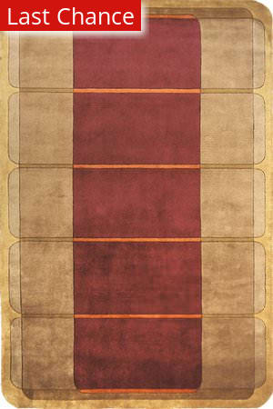 Rugstudio Sample Sale 45939R Wine Area Rug