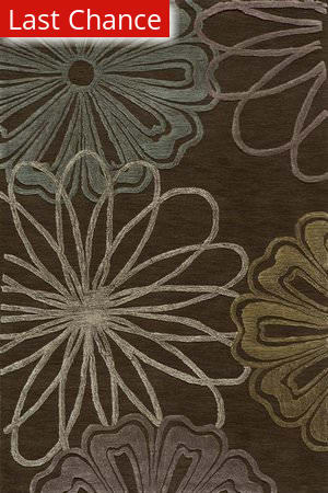 Rugstudio Sample Sale 46085R Brown Area Rug