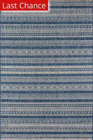 Rugstudio Sample Sale 174046R Blue Area Rug