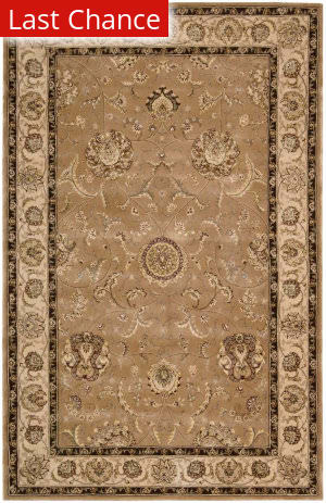 Rugstudio Sample Sale 186581R Camel Area Rug
