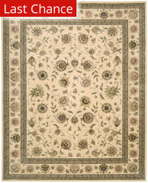 Rugstudio Sample Sale 29216R Ivory Area Rug