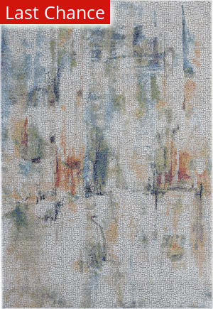 Rugstudio Sample Sale 199588R Ivory - Multicolor Area Rug