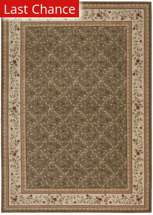 Rugstudio Sample Sale 22896R Olive Area Rug