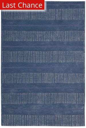 Rugstudio Sample Sale 71855R Denim Area Rug