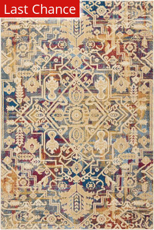Rugstudio Sample Sale 174059R Multicolor Area Rug