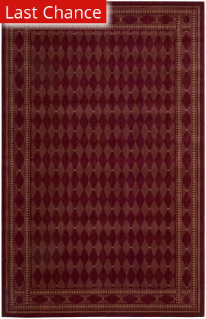 Rugstudio Sample Sale 22974R Burgundy Area Rug