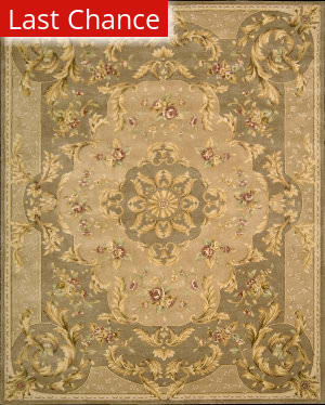 Rugstudio Sample Sale 45082R Taupe Area Rug