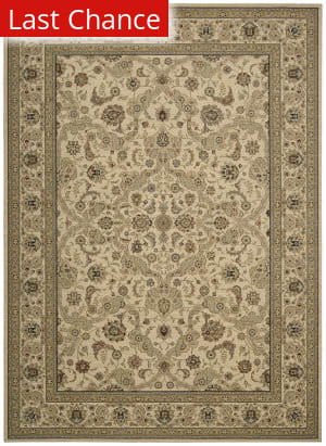 Rugstudio Sample Sale 98587R Ki600 Beige Area Rug