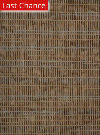 Rugstudio Sample Sale 45115R Brown Area Rug