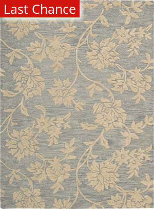 Rugstudio Sample Sale 32691R Blue-Beige Area Rug