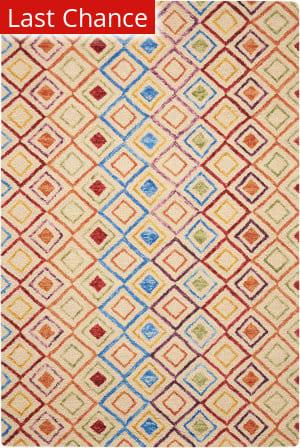 Rugstudio Sample Sale 174145R Ivory Area Rug