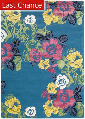 Rugstudio Sample Sale 95729R Turquoise Area Rug