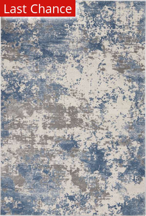 Rugstudio Sample Sale 205601R Grey - Blue Area Rug