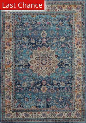 Rugstudio Sample Sale 200223R Blue Area Rug