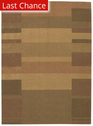 Calvin Klein Loom Select CK-11 Block Profile LS-02 Gold Area Rug