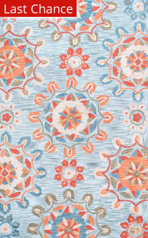 Nuloom Hand Tufted Serenity Spa Blue Area Rug