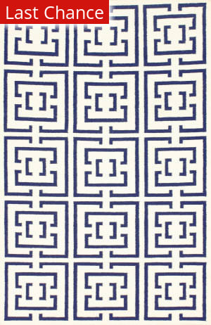 Nuloom Flatweave Dasher Navy Area Rug