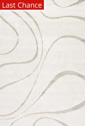 Rugstudio Sample Sale 165413R Cream Area Rug