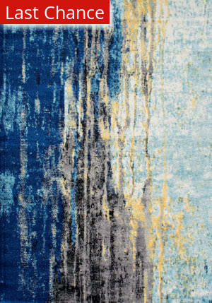 Rugstudio Sample Sale 165353R Blue Area Rug
