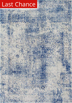 Nuloom Vintage Willena Blue Area Rug