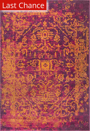 Rugstudio Sample Sale 181174R Orange Area Rug