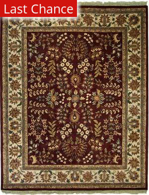 ORG Destin Olda Burgundy Area Rug