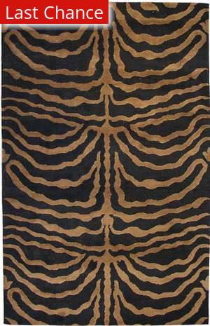 ORG Destin Zebra Cocoa Area Rug