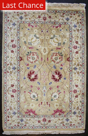 ORG Ganges River Gr420g Gold - Ivory Area Rug