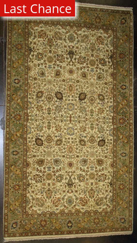ORG Haji Jalili 798 Yellow - Green Area Rug