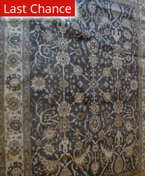 ORG Peshawar Ult-130 Brown And Beige Area Rug