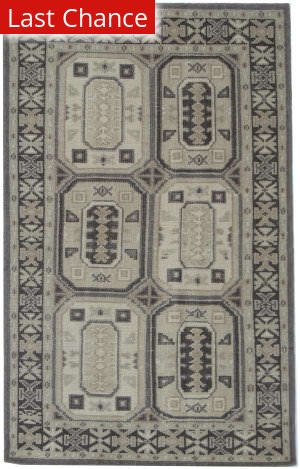 ORG Constance Bokhara Grey Beige Area Rug