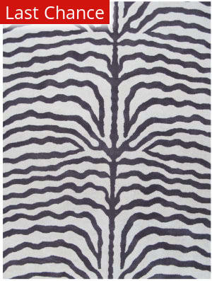 ORG Destin Zebra Purple Area Rug