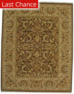 ORG Handtufted Siraj Brown Area Rug