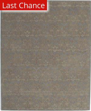 ORG Mathura Tasso Brown / Blue Area Rug