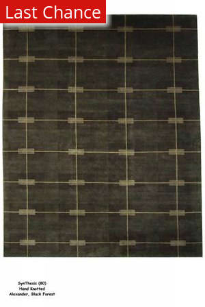 ORG Synthesis Alexander Black Forest Area Rug