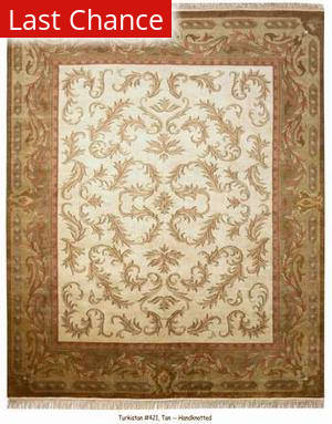 ORG Turkistan 421 Tan Area Rug