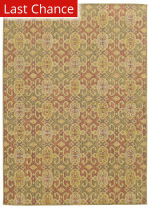 Rugstudio Sample Sale 110487R Green Area Rug