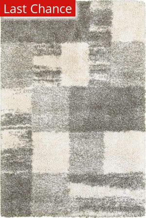 Rugstudio Sample Sale 167494R Ivory - Grey Area Rug