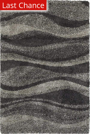 Rugstudio Sample Sale 167498R Grey - Charcoal Area Rug