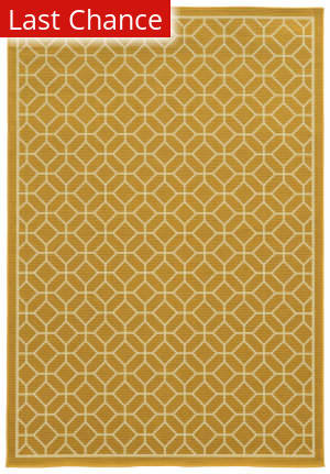 Rugstudio Sample Sale 110345R Gold Area Rug