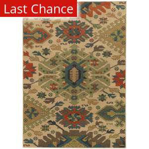 Rugstudio Sample Sale 141249R Tan Area Rug