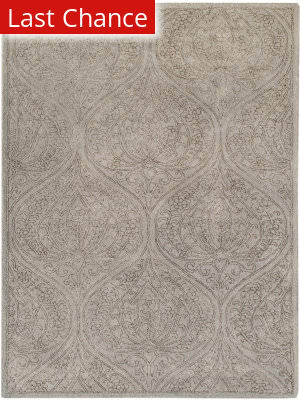 Rugstudio Sample Sale 185639R Light Gray Area Rug