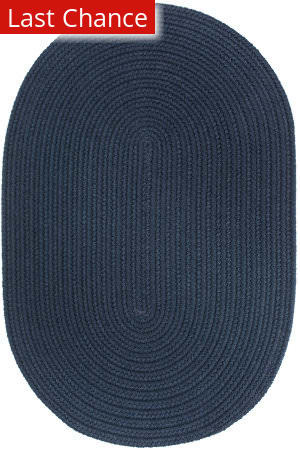 Rugstudio Sample Sale 181411R Navy Area Rug
