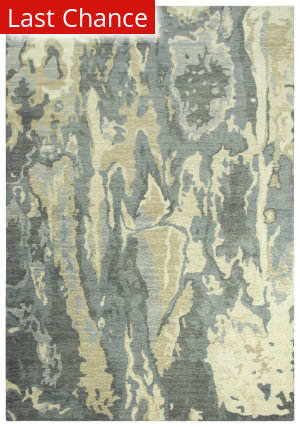 Rugstudio Sample Sale 205429R Gray Area Rug